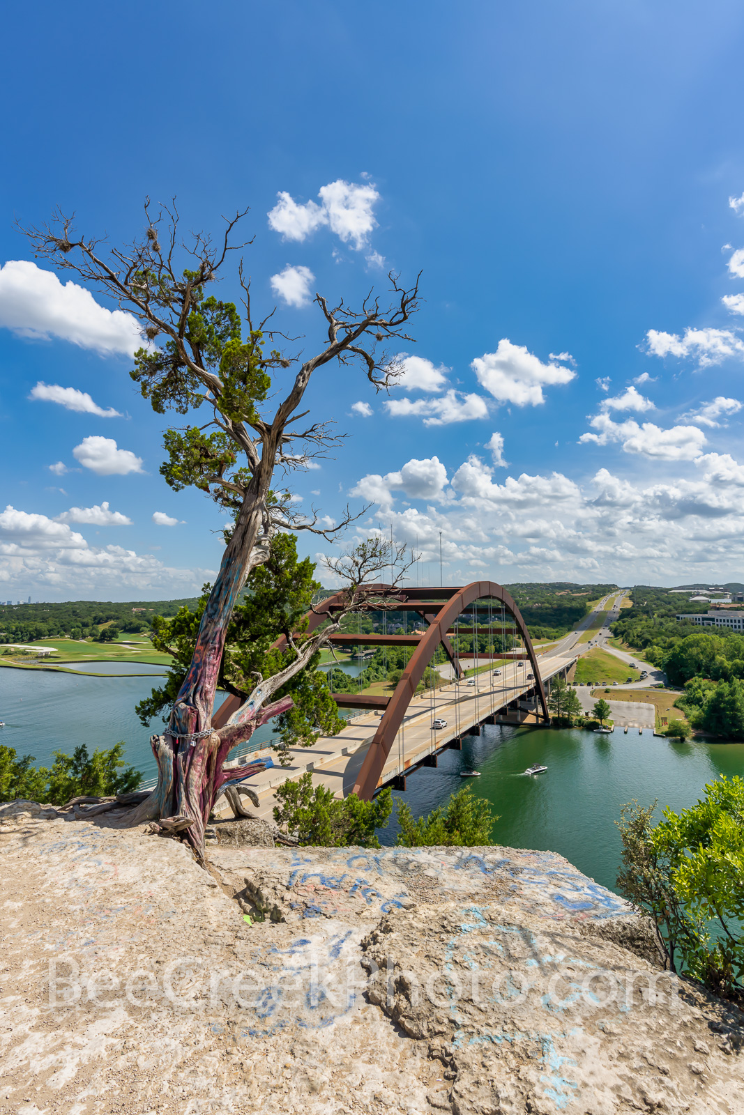 Austin Pennybacker Overlook, Vertical, Austin 360 bridge, Austin Pennybacker Bridge, austin texas, texas hill country, lake austin, colorado river, hwy 360, capitol of Texas hwy., photo