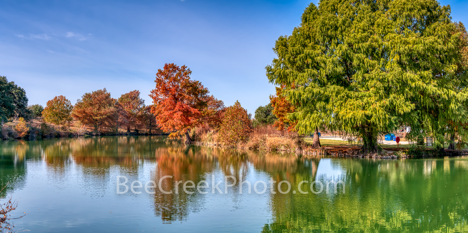 Autumn at the Blanco River - This was taken along the blanco river in Blanco State Park.  This spring fed river is just an hour...