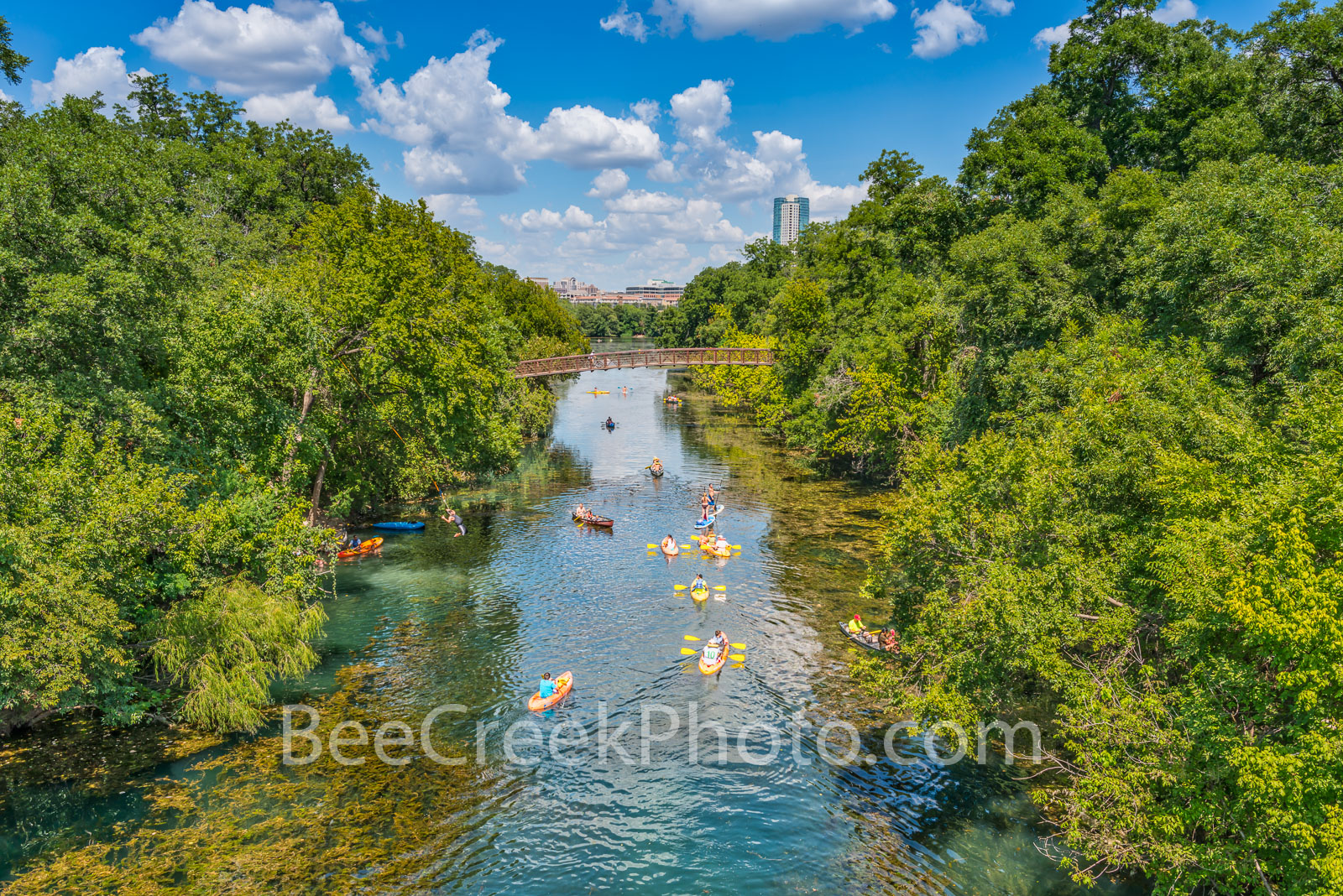 Austin, Barton Spring creek, Lady Bird Lake, Barton Springs, creek, trees, Canoeing, kayaking, Sups, Zilker park, Places to go in Austin, Places to see in Austin Tx, spring fed waters, natural, , photo