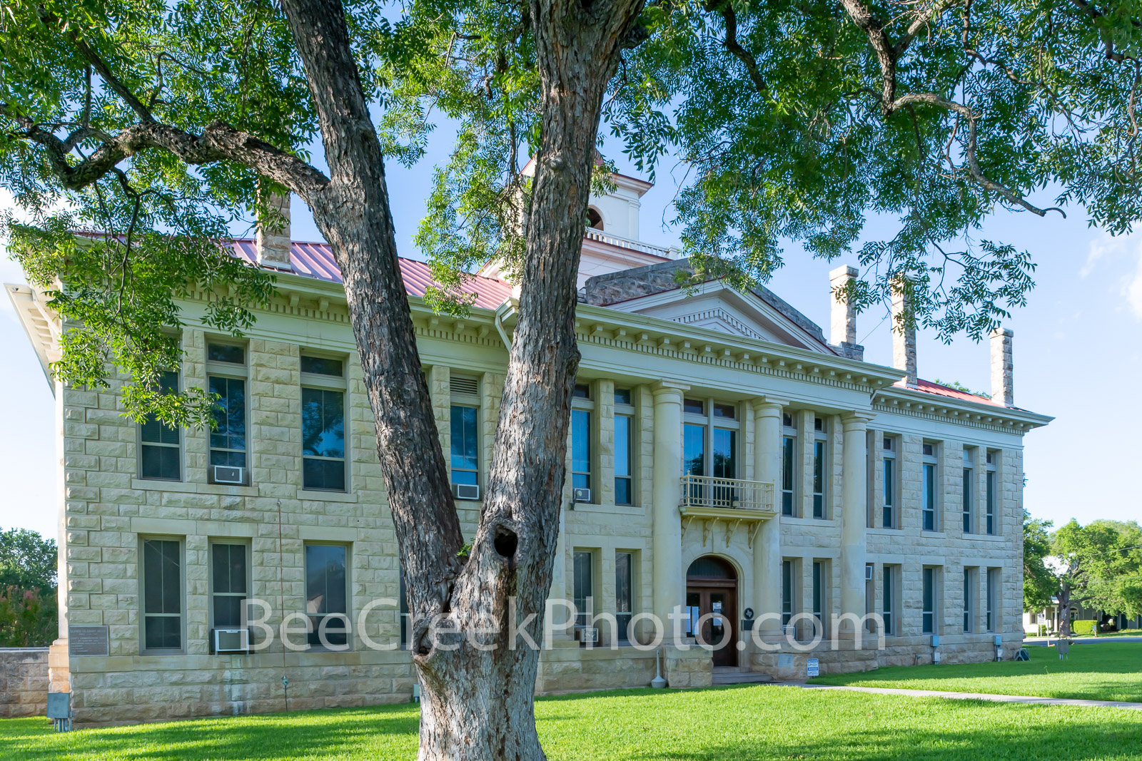 Blanco County Courthouse 2 - Blanco Country Courthouse is located in Johnson City. The orginal courthouse was located in the...