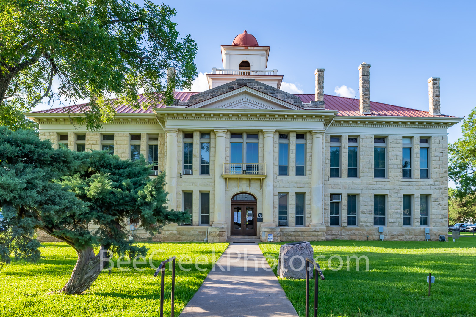 blanco county courthouse, texas courthouses, courthouse, texas, johnson city, county seat, texas hill country, , photo
