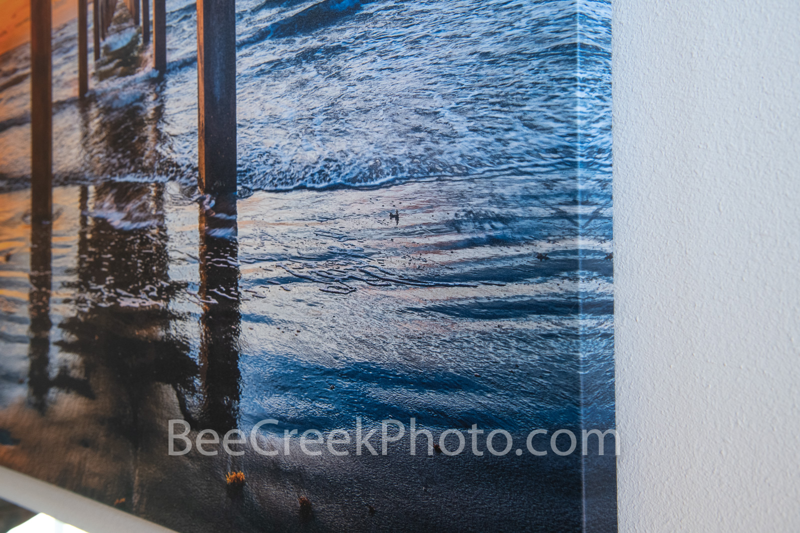 Canvas with Mirror Edge