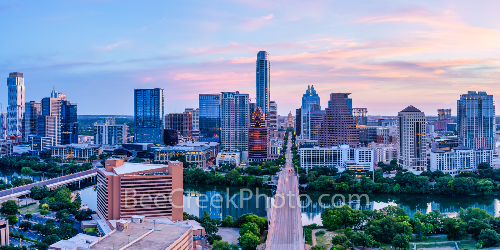austin skyline, texas, austin texas,  sunrise, texas capitol, downtown austin, austin, congress bridge, austin tx, austin pics, congress,  austin hyatt, austin downtown, architecture, sunrise, pinks, , photo
