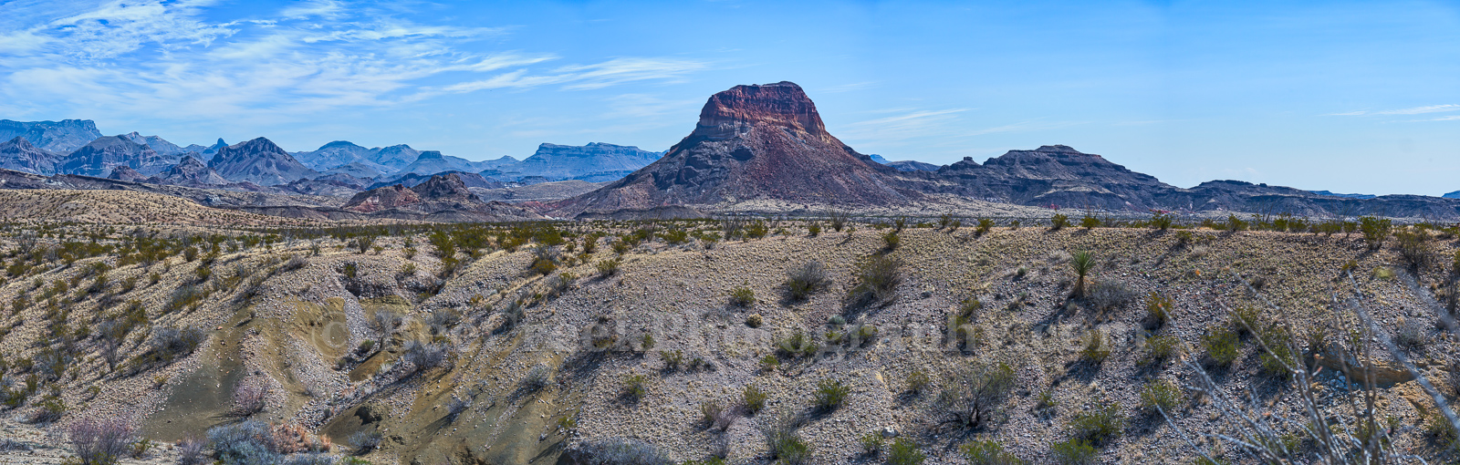 Big Bend, National Park, Chiso mountains, pano, panorama, distant, view, , photo