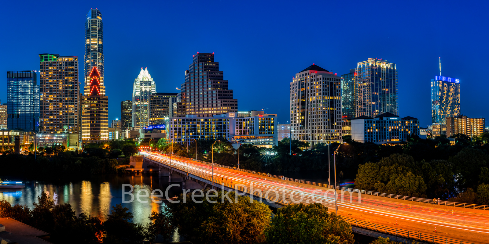 austin, texas, austin downtown, austin texas, austin skyline twilight, twilight, congress bridge, downtown austin, austin skyline, lady bird lake, blue hour, congress, town lake, austonian, frost towe