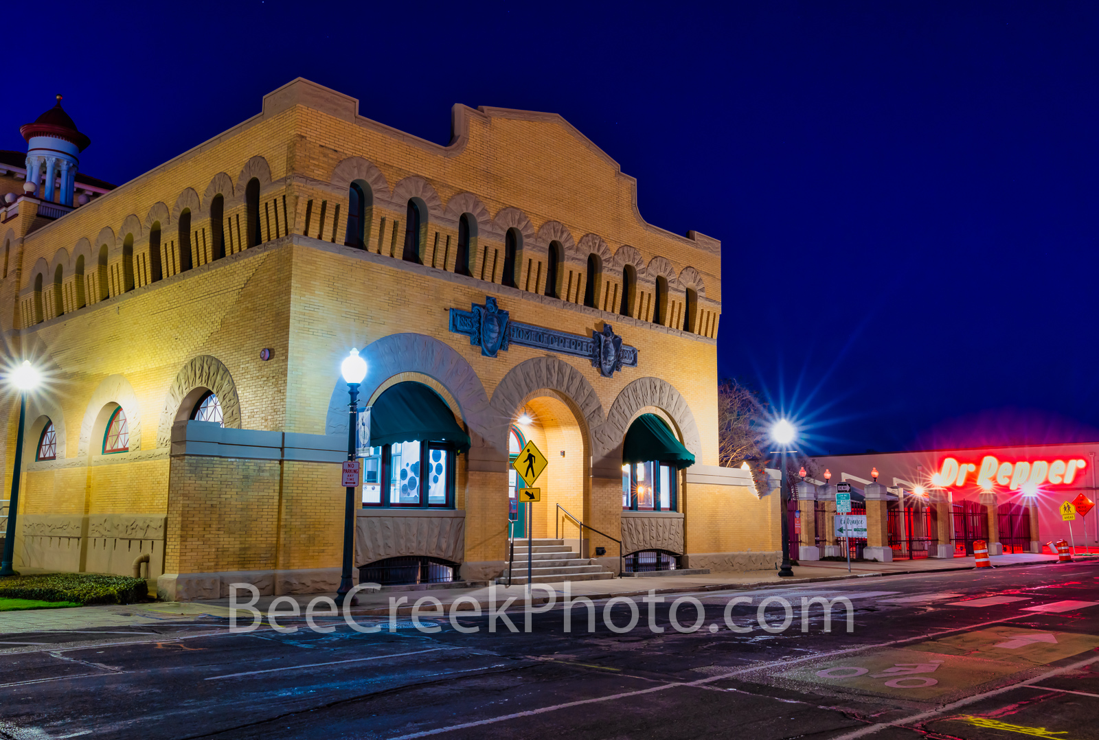 Dr Pepper Museum Waco Texas - This is a historical musuem for the Dr Pepper Museum in Waco Texas where the soft drink was created...