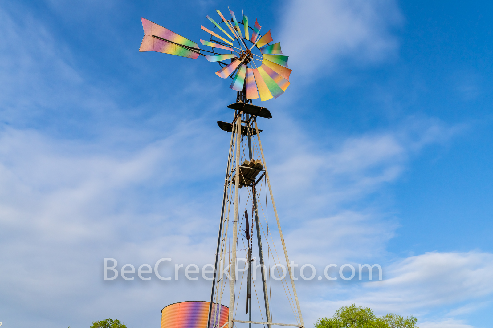 Fantasy Rainbow Windmill 2 - Ok I love windmills so I am always wanting to stop and capture a few images they take me to my happy...