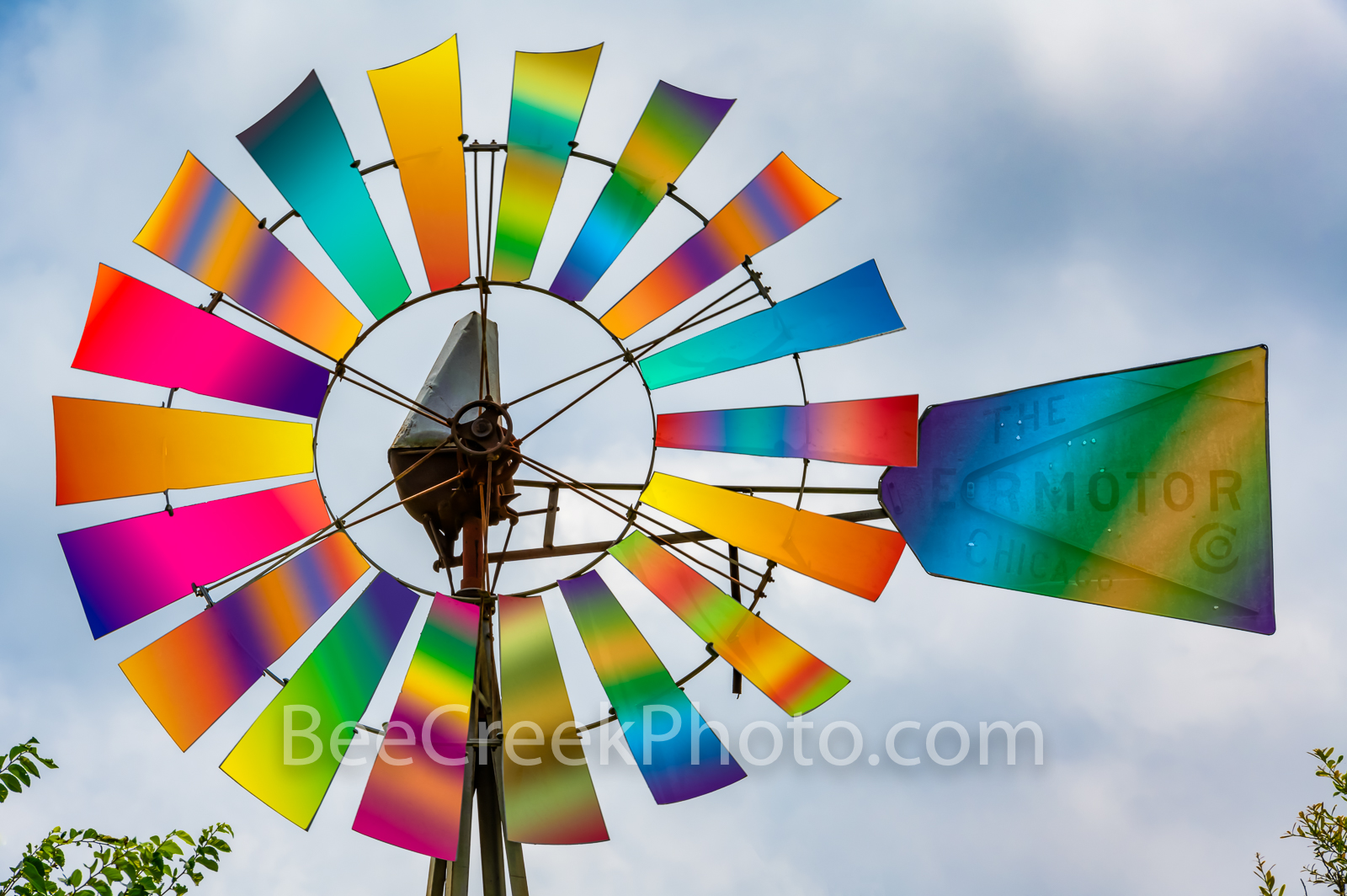 Fantasy Rainbow Windmill - Ok I love windmills so I am always wanting to stop and capture a few images they take me to my happy...