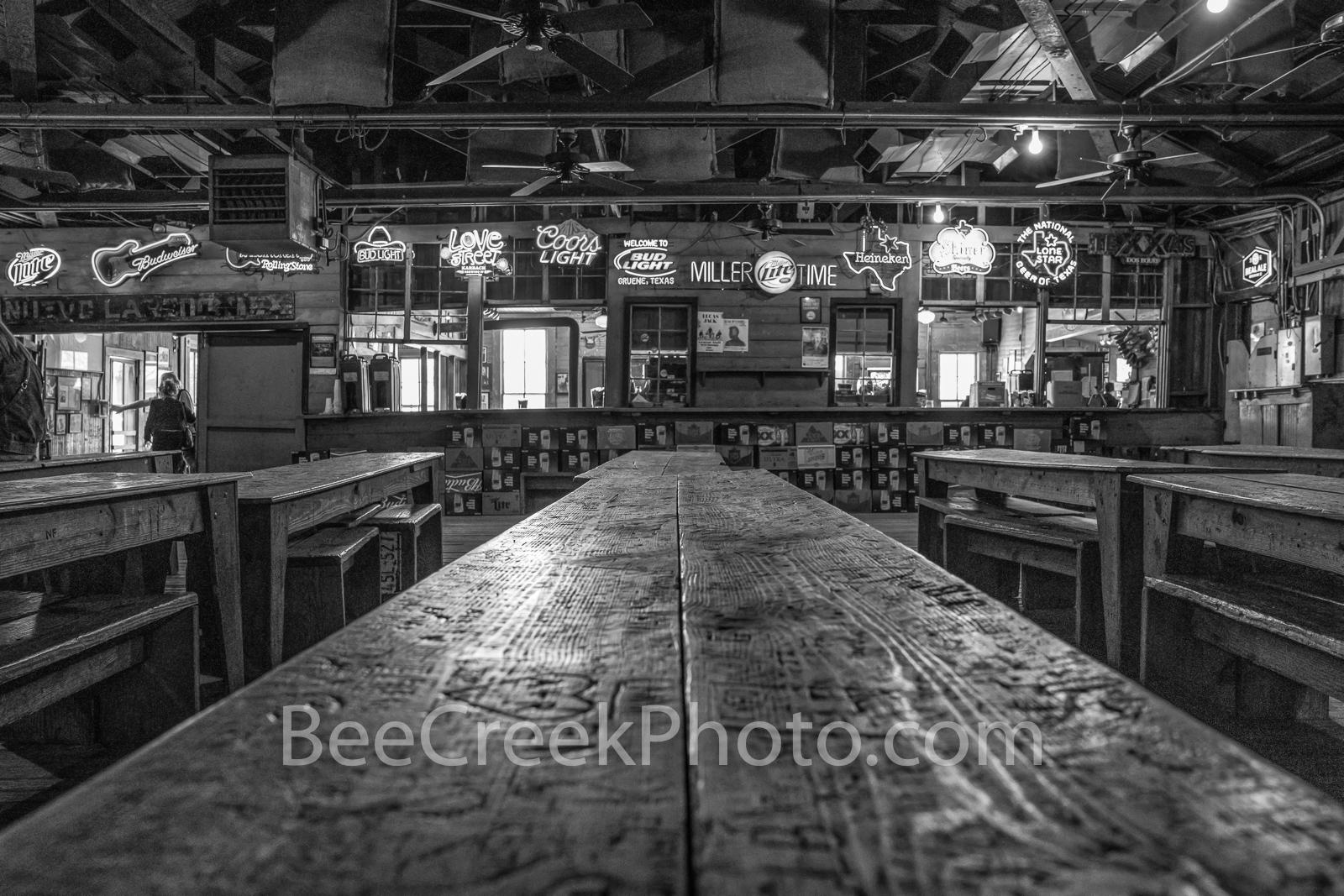 gruene hall, gruene saloon, gruene texas, dance hall, saloon, town, community, earnest gruene, german, german town, texas, texas hill country, visit, national register of historic places, german bar, , photo