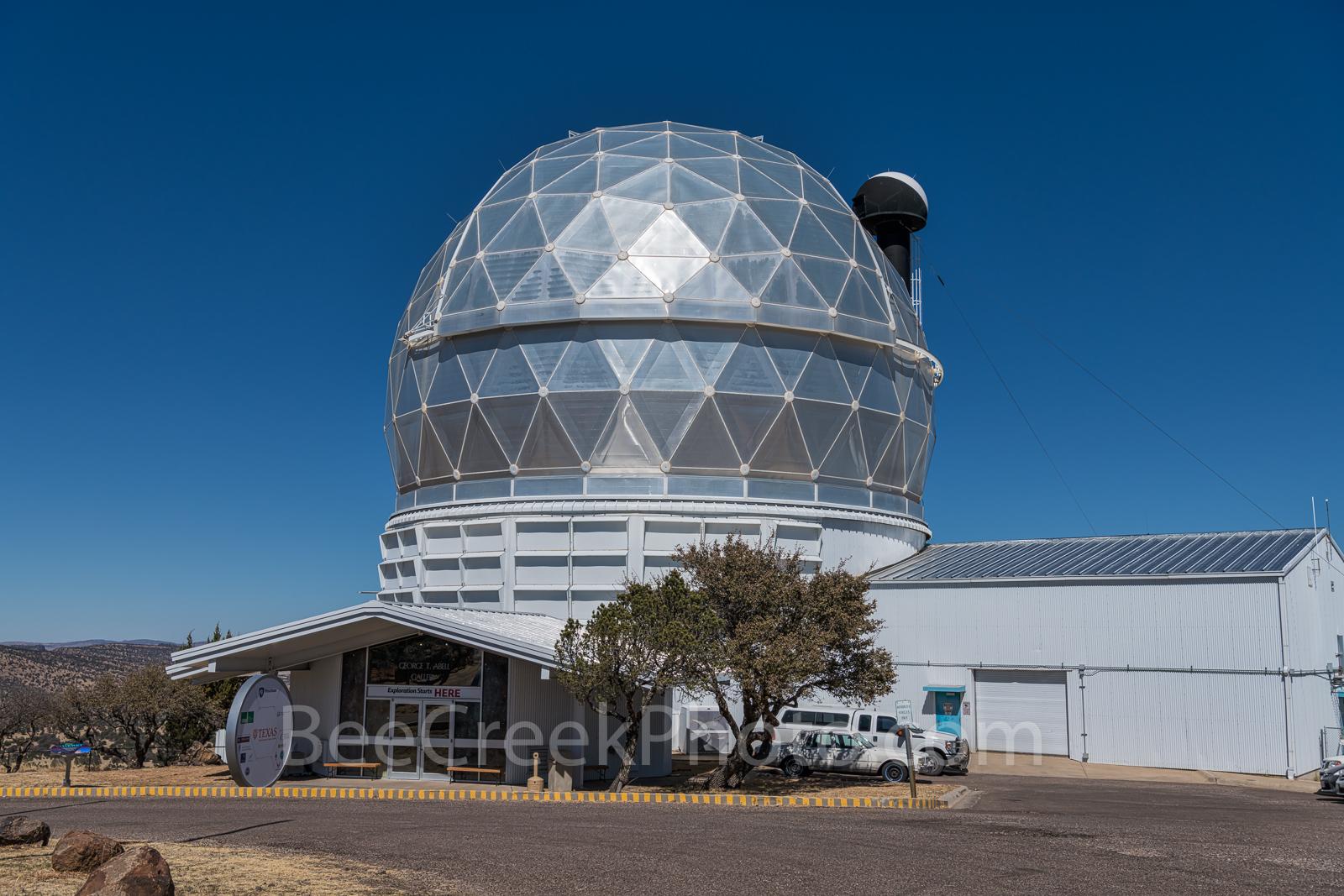 Davis Mountains, Hobby-Eberly Telescope, optical, UT, Mt. Fowlkes, elevation 6660 ft, Fort Davis, Texas, USA, photo
