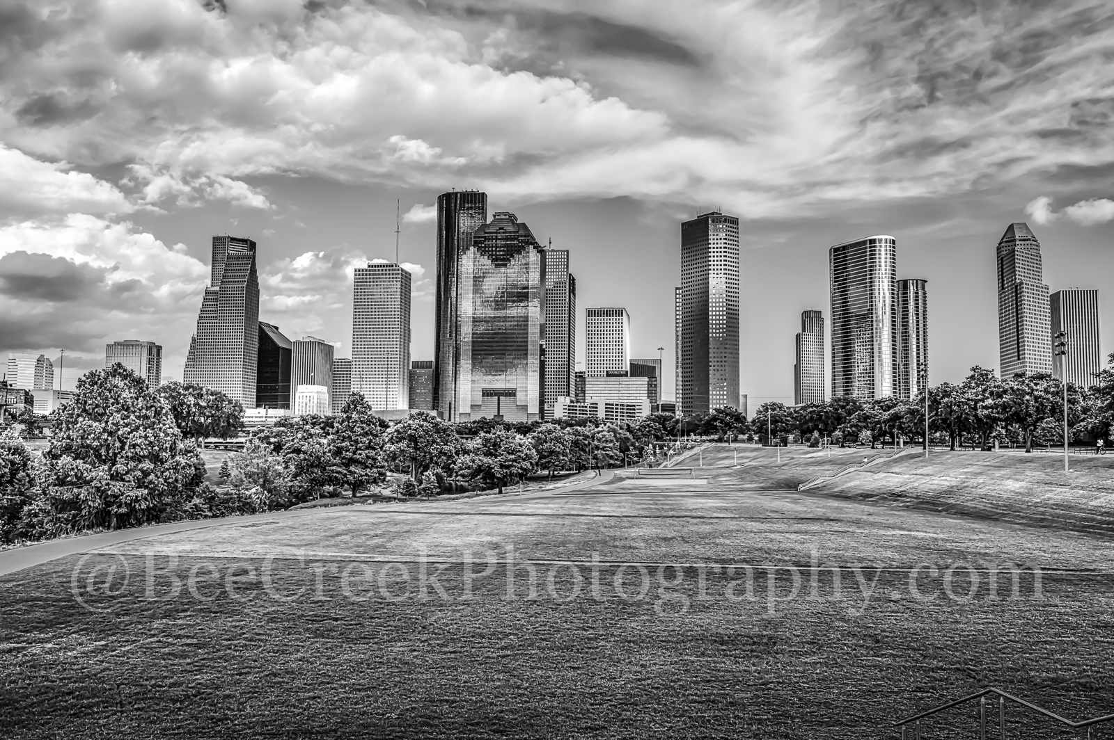 Houston, black and white, bw, city, cityscape, downtown, houston in black and white, skyline, skylines, urban, photo