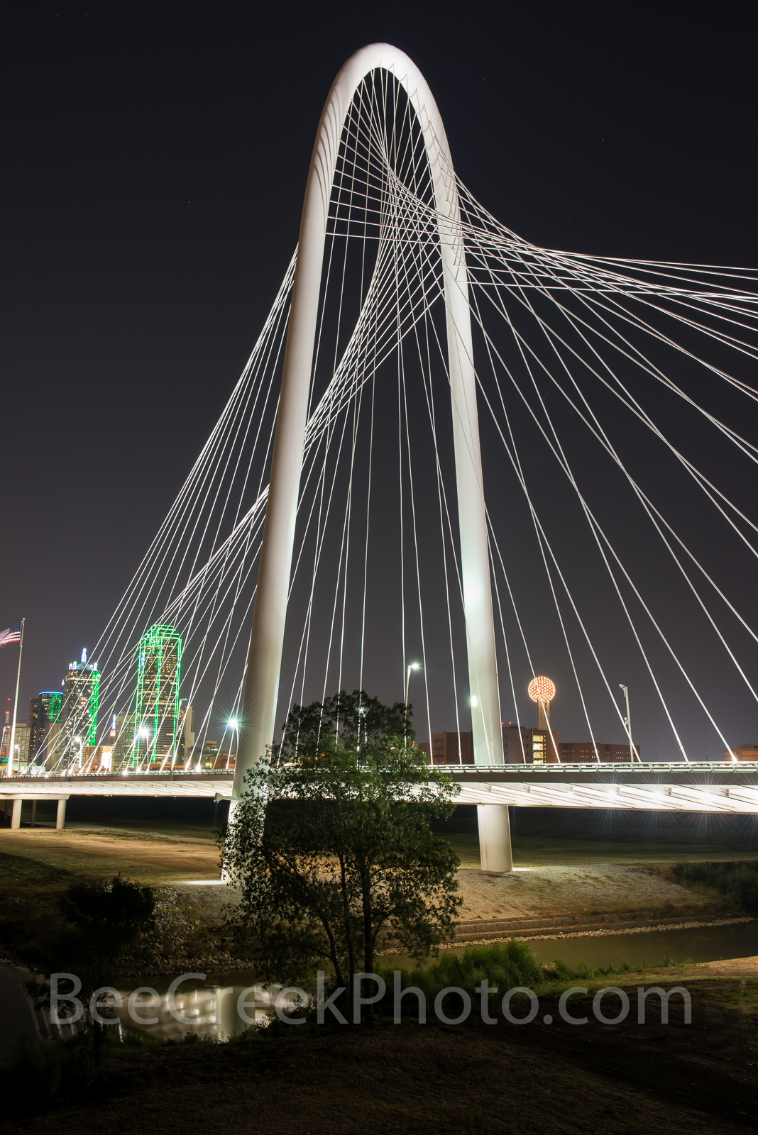 Margaret Hunt Hill Bridge, bridge, Dallas, skyline, Dallas Texas, Dallas skyline, images of dallas, photos of dallas, pictures of dallas, stock photos of dallas, vertical,, photo
