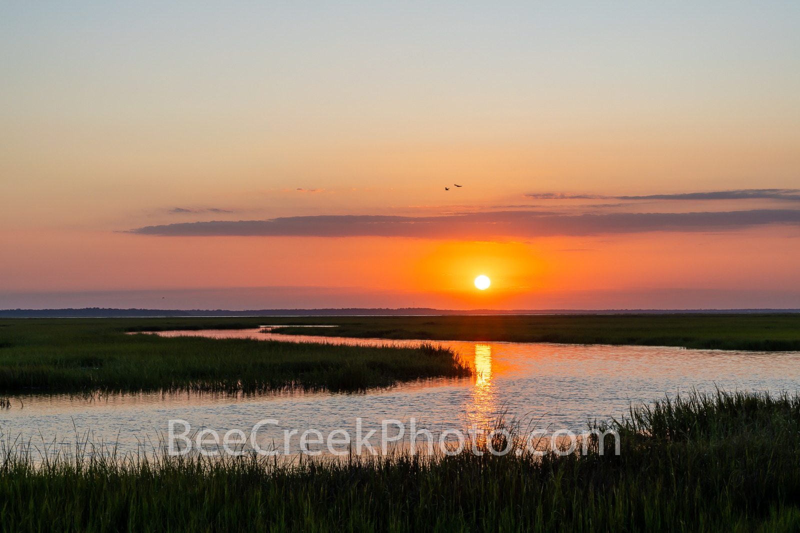 Jekyll island, jekyll river, marshlands, sunset, salt marsh, marsh wetlands, golden isles, shrimp, golden color, season, barrier island,  george coast, coastal, 