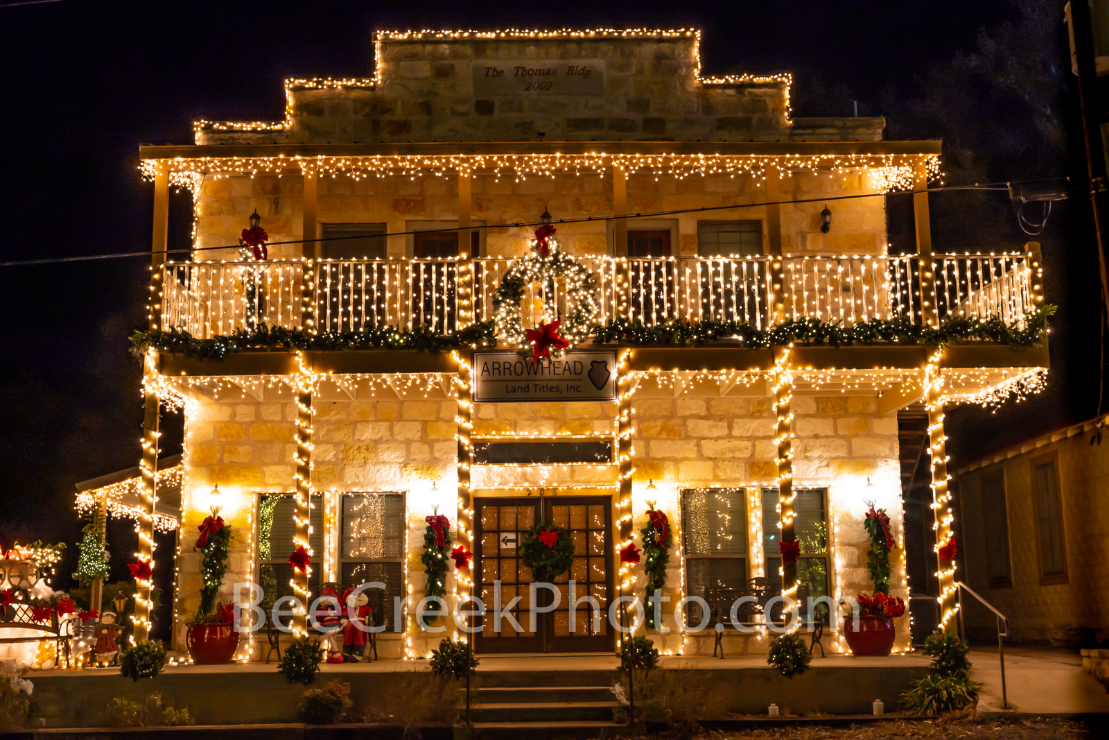 Johnson City Title Company Christmas - Wanted to show how the hill country decorates for Christmas in Johnson City Texas. Johnson...