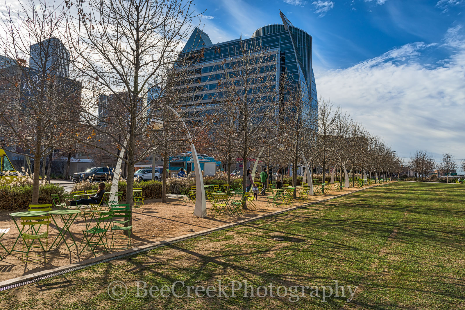 Dallas, Kyle Warren Park, downtown, views, city, city view, food trucks, restaurnat, concerts, events, exercise, , photo