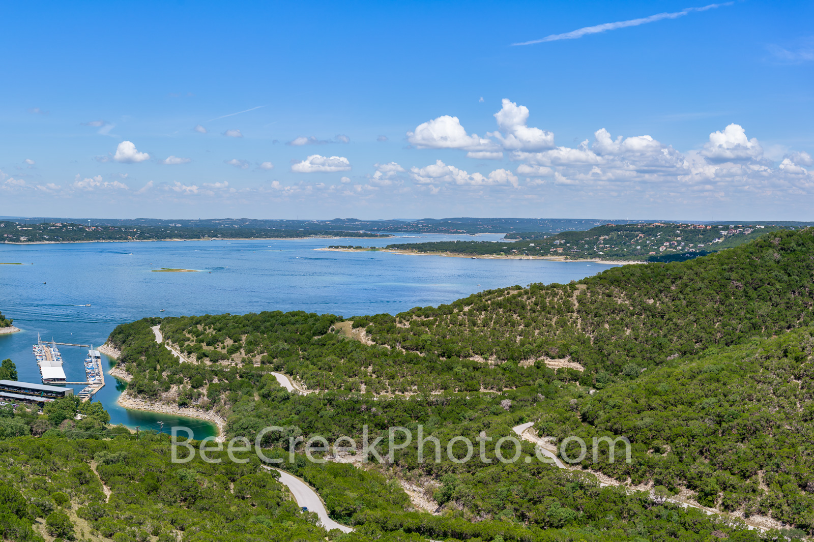 Lake Travis Aerial View - This was our latest aerial view of lake travis during a beautiful blue sky day. We wanted to capture...