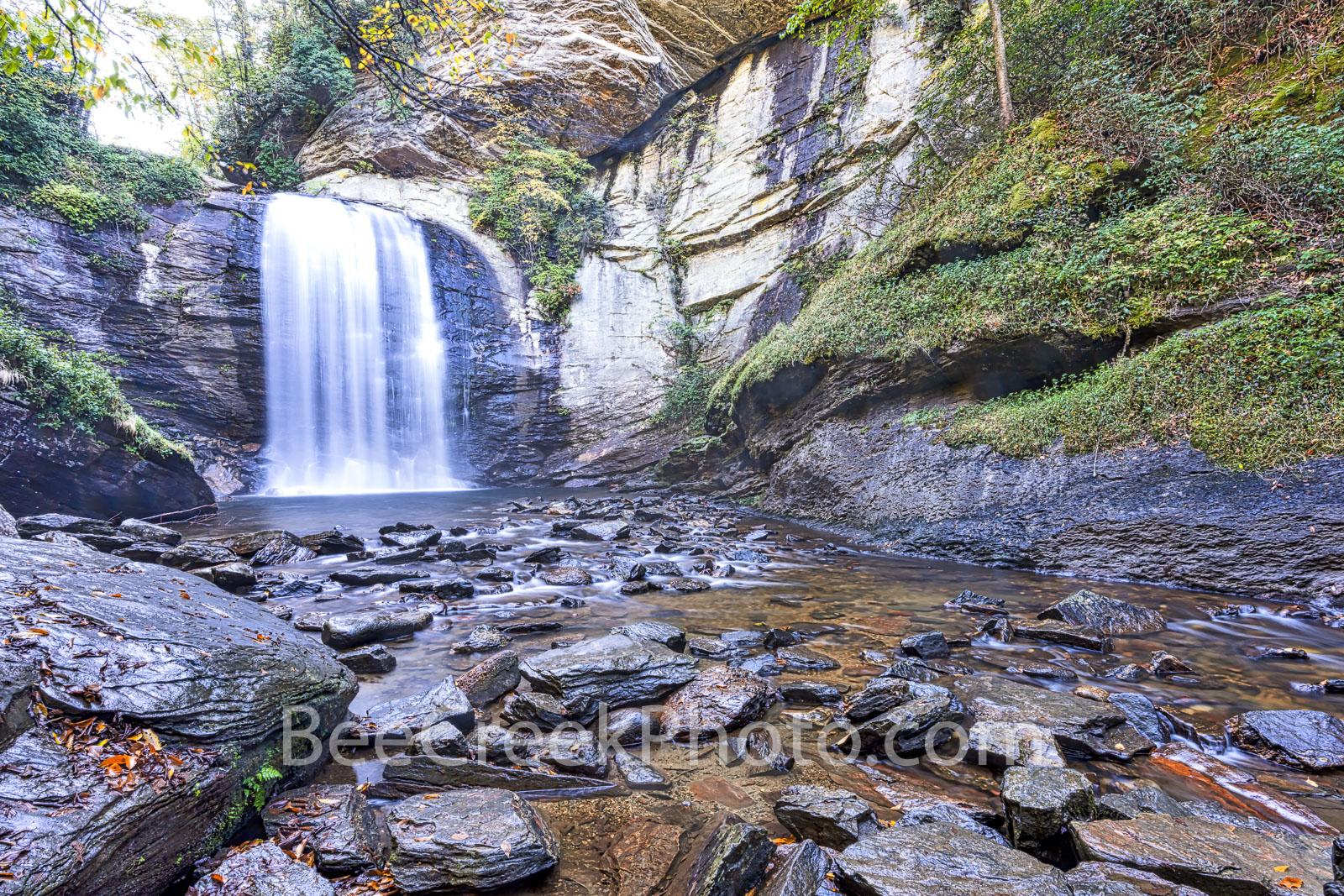 Looking Glass Falls Smoky Mountain  - Took this picture of looking glass falls in the Smoky Mountains National Park. Looking...
