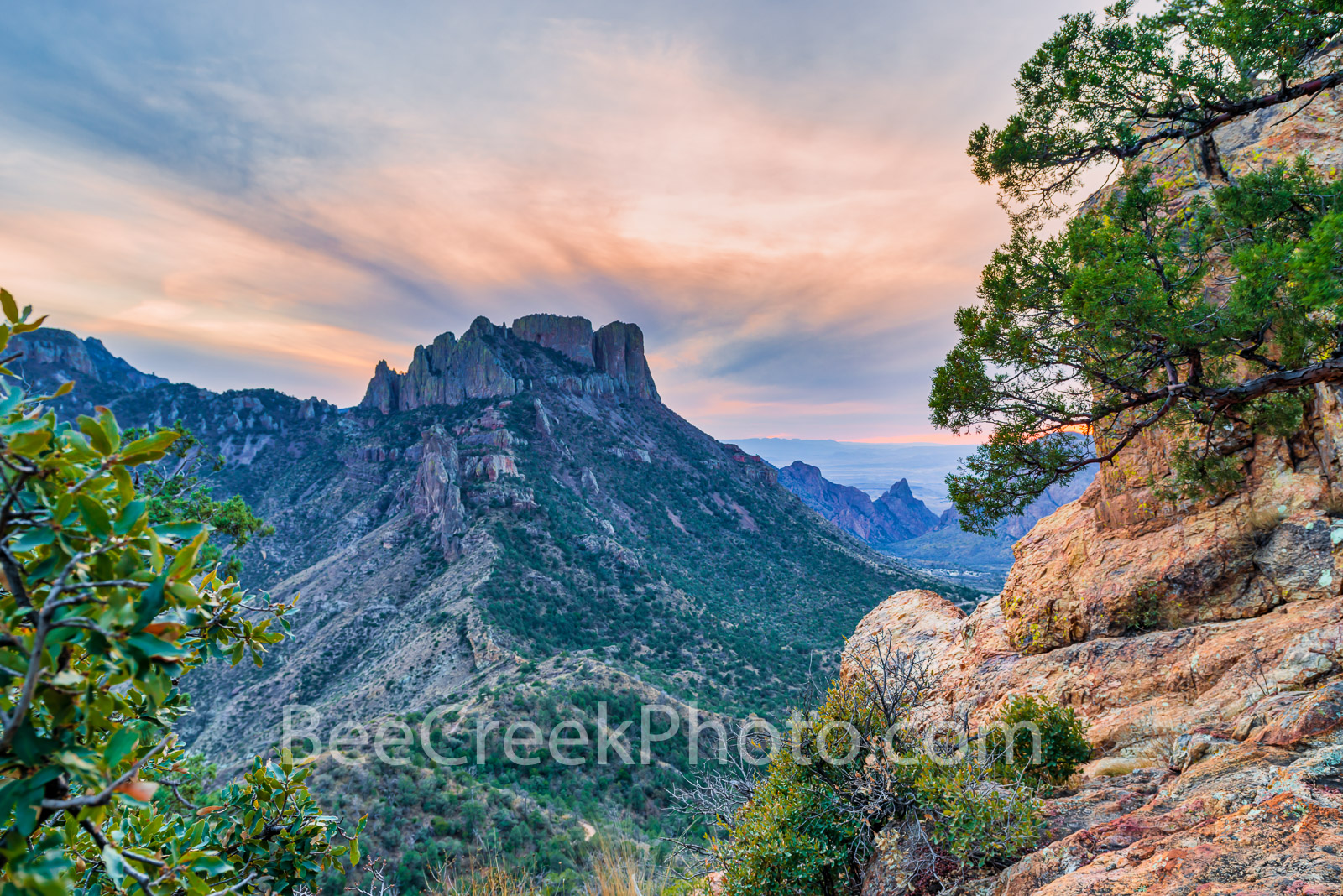 Lost Mine Trail at Sunset - It was a perfect day when I left to climb the Lost Mine Trail in Big Bend National Park and I captured...