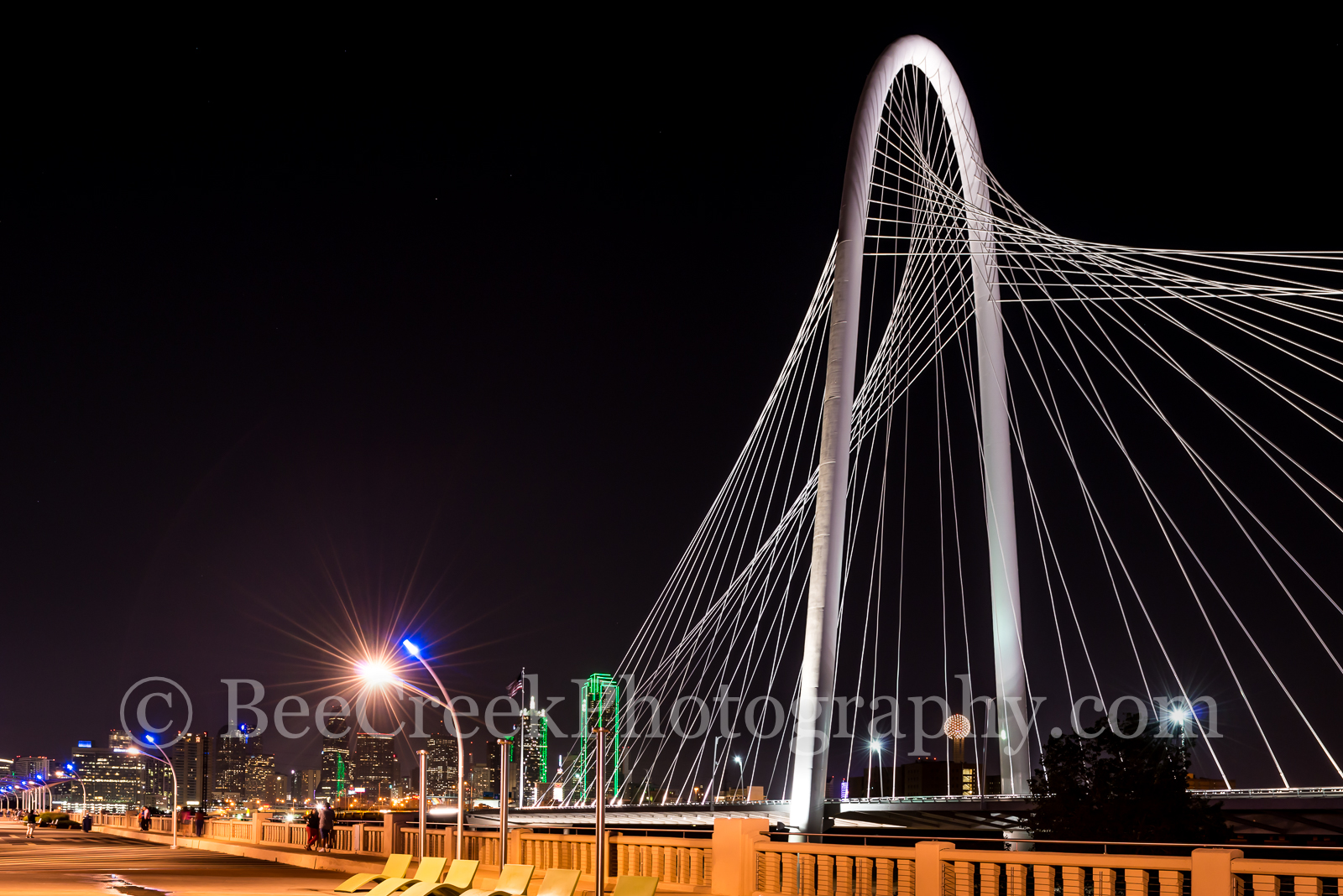 Margaret Hunt Hill Bridge Dallas - We captured this photo of the Margaret Hunt Bridge over the Trinity River with the...