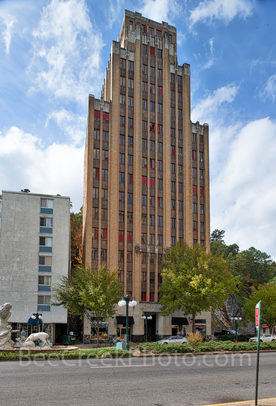 Medical Arts Building,central avenue,  Hot Springs, downtown, Arkansas, art decor, tallest building,, photo