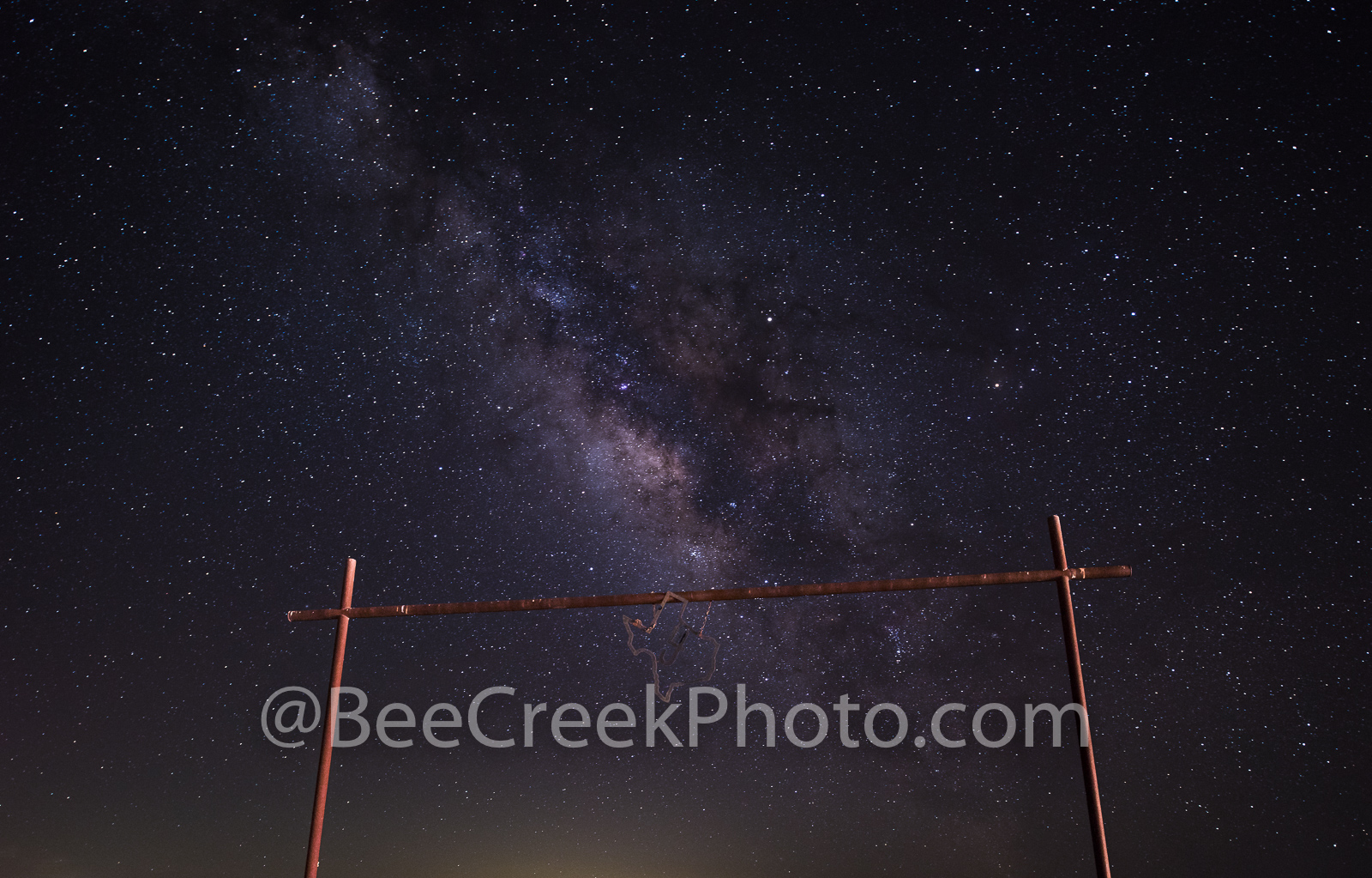 Astronomy, astrophotography, celestial, gate, ranch, dark, dark skies, galaxies, galaxy, golden,, landscape, light pollution, milky way, milkyway, night, night landscape, night landscapes, night photo