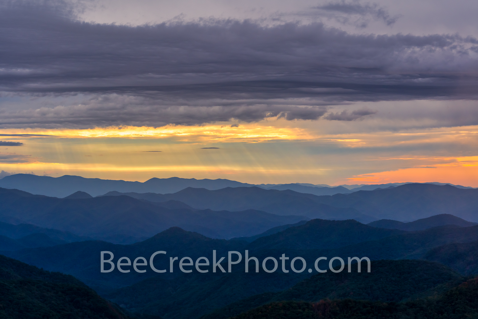 blue ridge, blue ridge mountains, blue ridge parkway, blue ridge mountain, great smoky mountains, mountains, smokies, great smoky mountains national park, applachia, overlook, sunset, sunrise, color, , photo