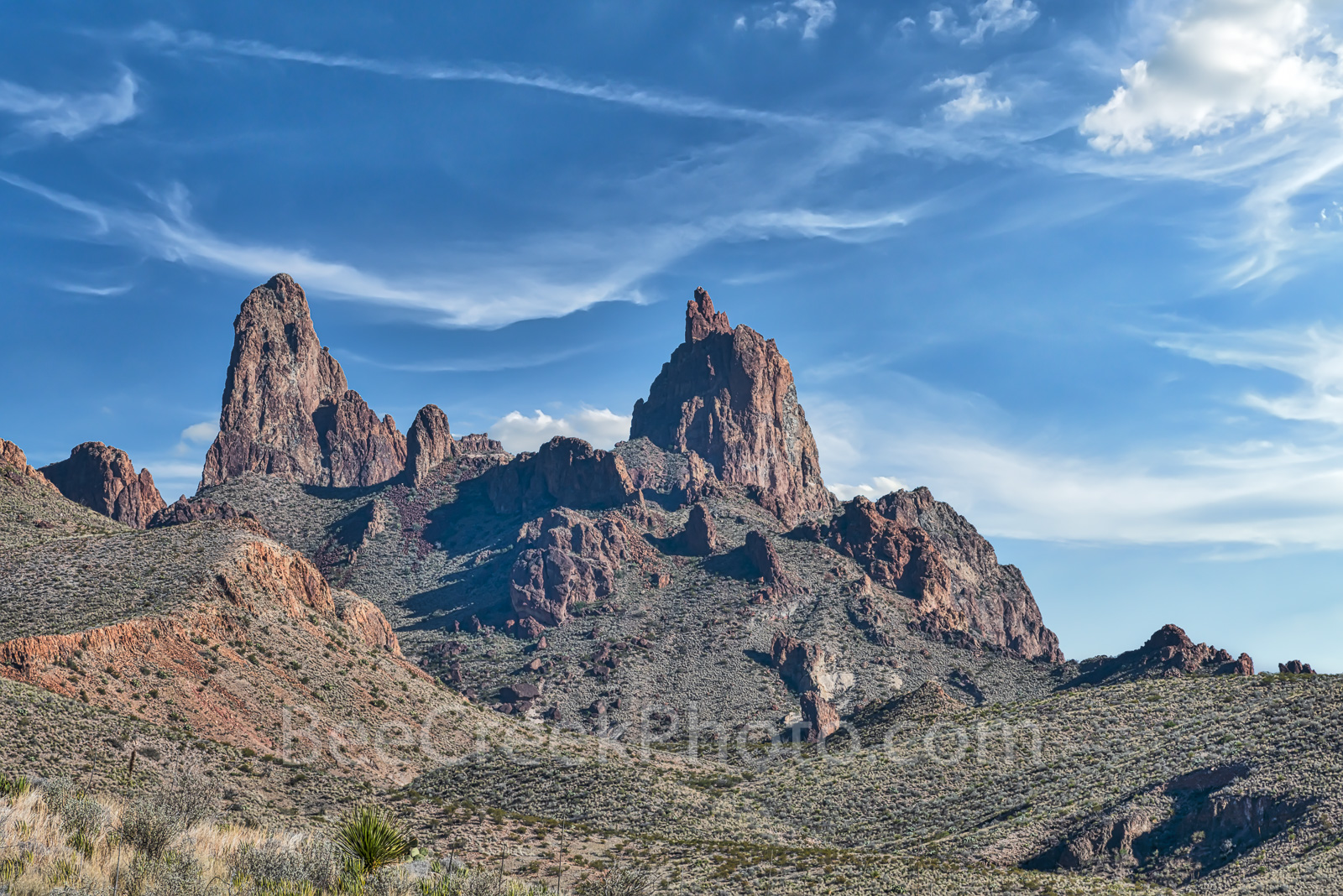 Mule Ear in Big Bend - Mule Ear in Big Bend National Park is such a wonderful place to visit. You can see the mule ear peaks...