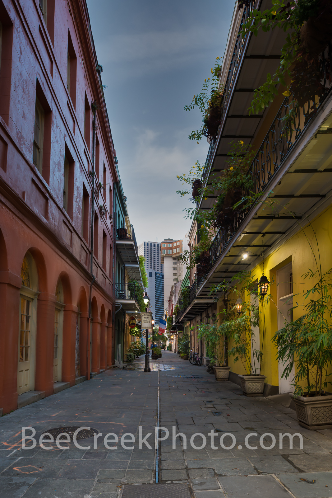 New Orleans Pedestrian Mall - I got up early before the crack of dawn and started to walk the streets of New Orlean in the French...