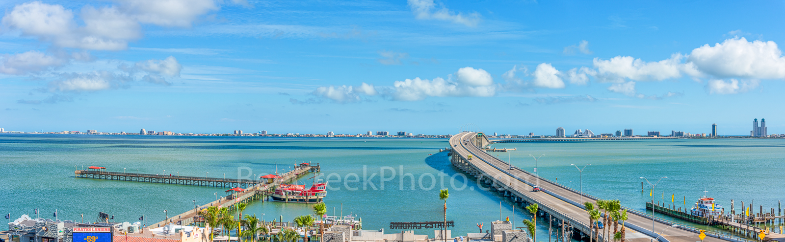 Port Isabell, Texas, Ocean, Bridge to Padre Island, Queen Isabella Memorial Causeway, south padre island, island, water, beach, view of padre island, view of causeway to Padre island, padre island, te, photo