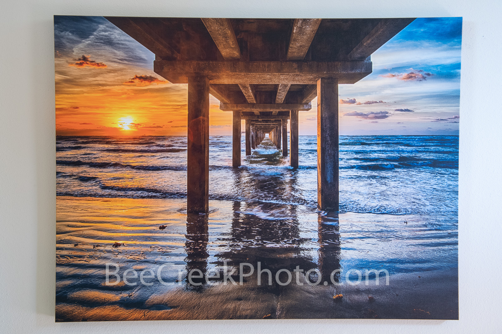 Canvas Print 48X32 with 1 and 1/2 inch frame