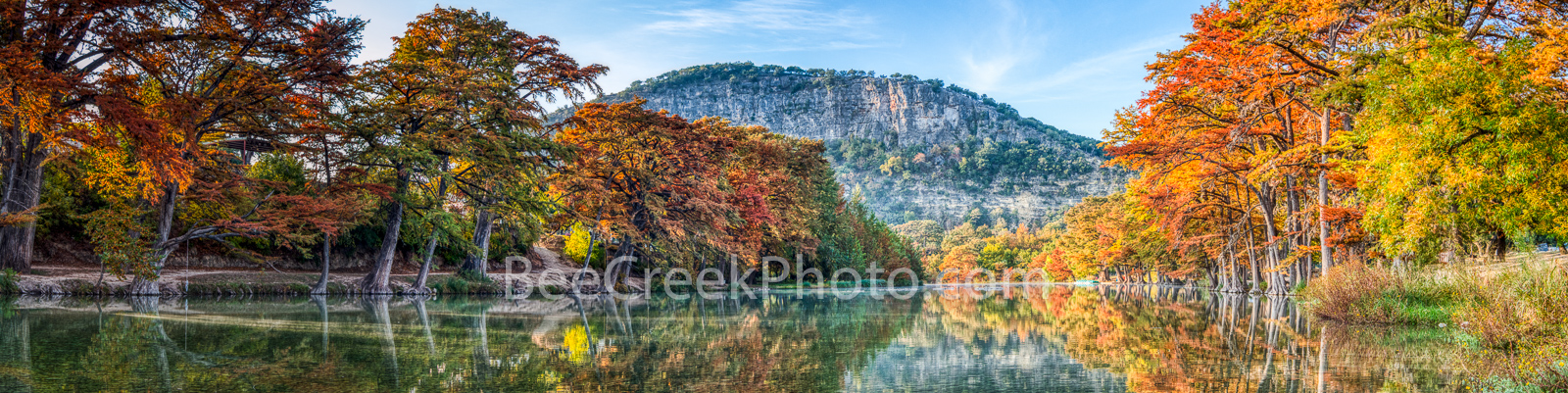 Scenic Fall Frio River Pano 3717 - We capture this scenic fall frio river pano on our first trip this year into the hill country...