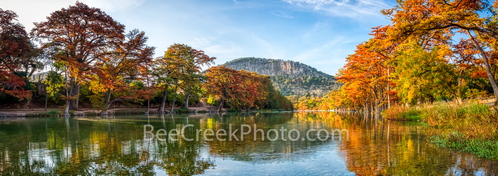Scenic Fall Texas Hill Country Pano - We capture this scenic fall frio river pano on our first trip this year into the Texas...