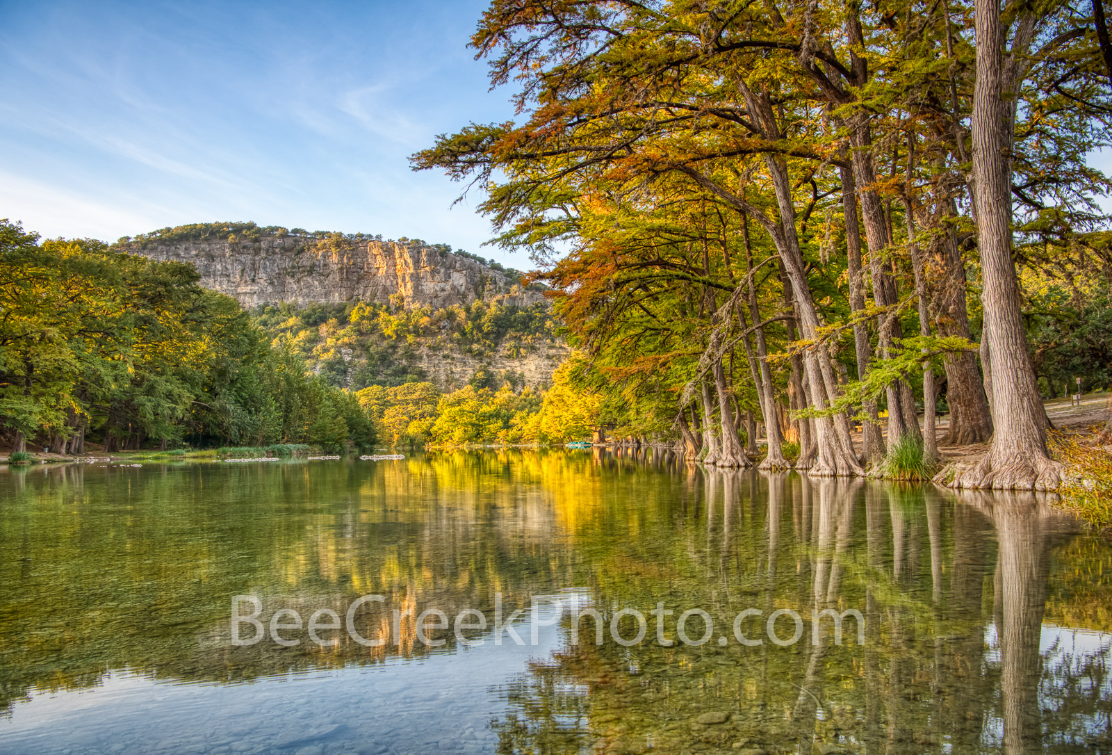 Serenity Along the Frio - We capture this on our first trip to the Texas hill country this year to try and capture the fall colors...