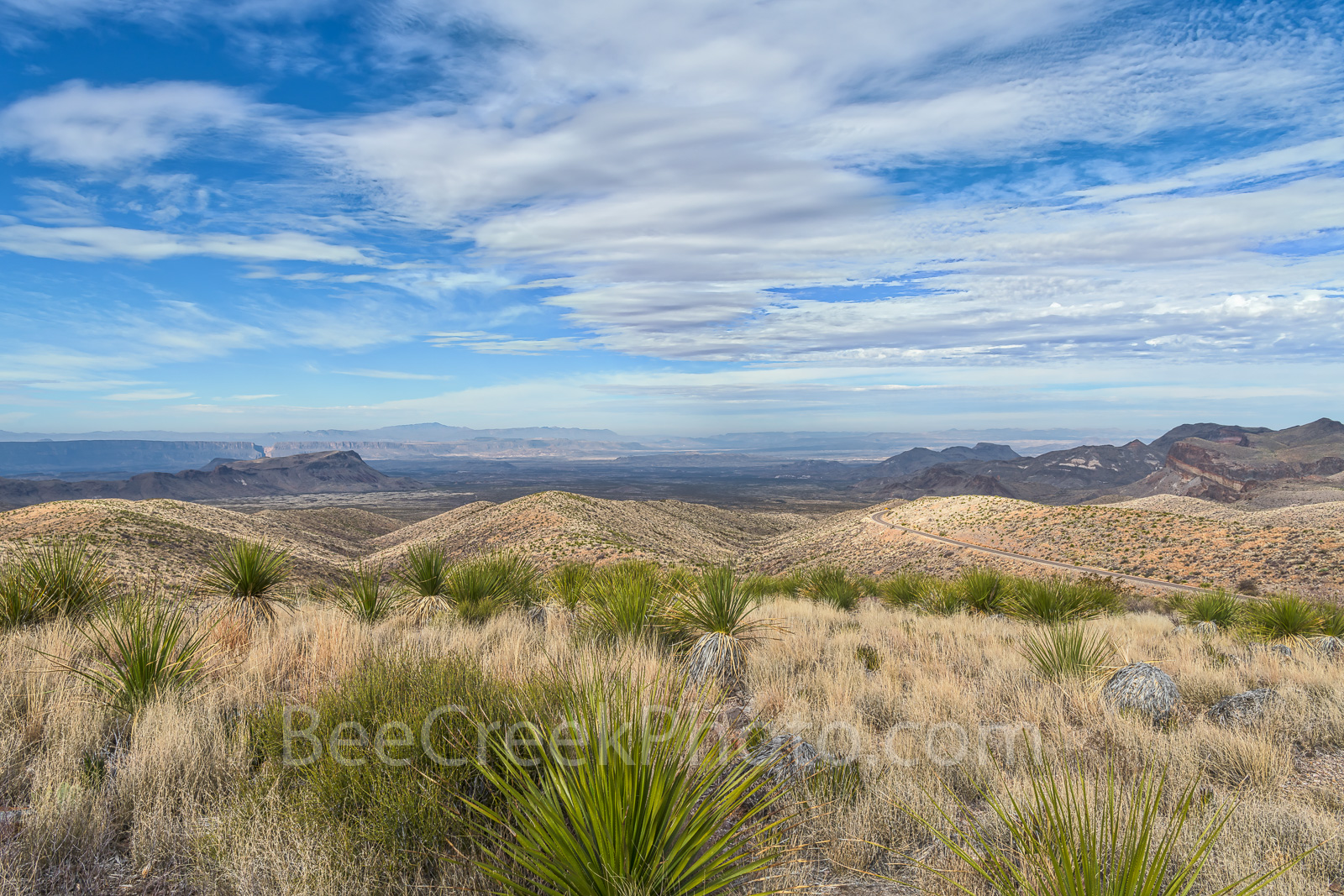 Big Bend National Park, Sotal Vista Overlook, mountains, ross maxwell Scenic Drive, distant, views, desert, Santa Elena Canyon, , photo