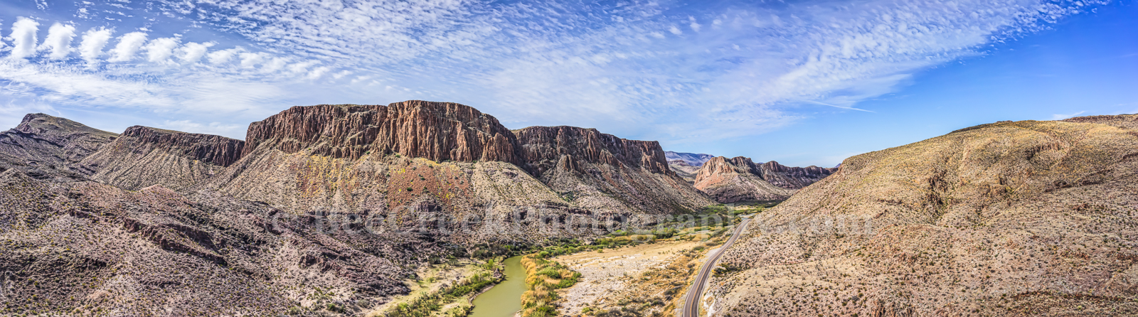 Big Bend State Park, Rio Grande, aerial, landscape, mexico, mountians, river road, us, water, photo