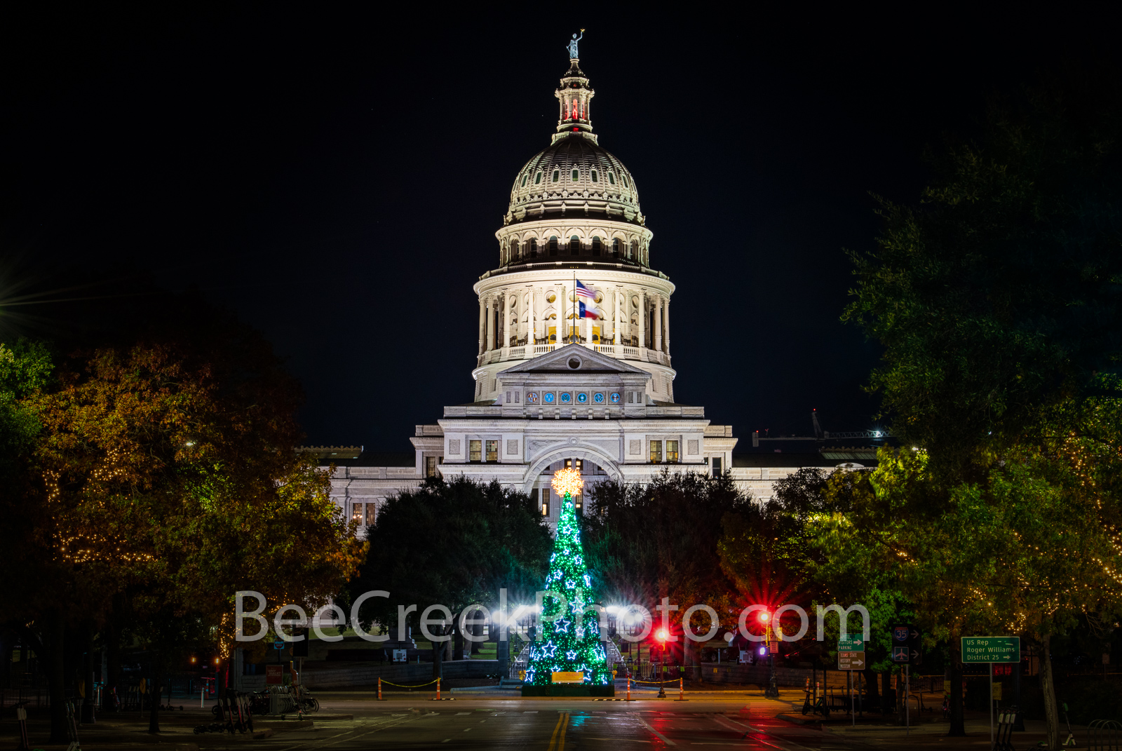 Texas Capitol Christmas Tree 1220 - Christmas in Austin there is a lot to do with the trail of lights down at milker all the...