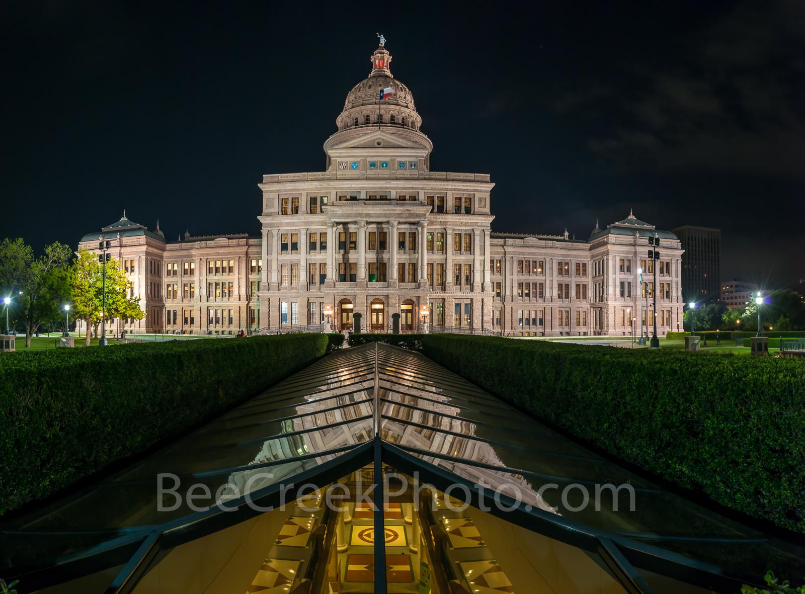 Texas capitol, night, Texas state capital, texas state capitol, State Capitol, State Capital, images of texas, photos of texas, cityscape, downtown, tourism, tourist, historic, landmark,, photo