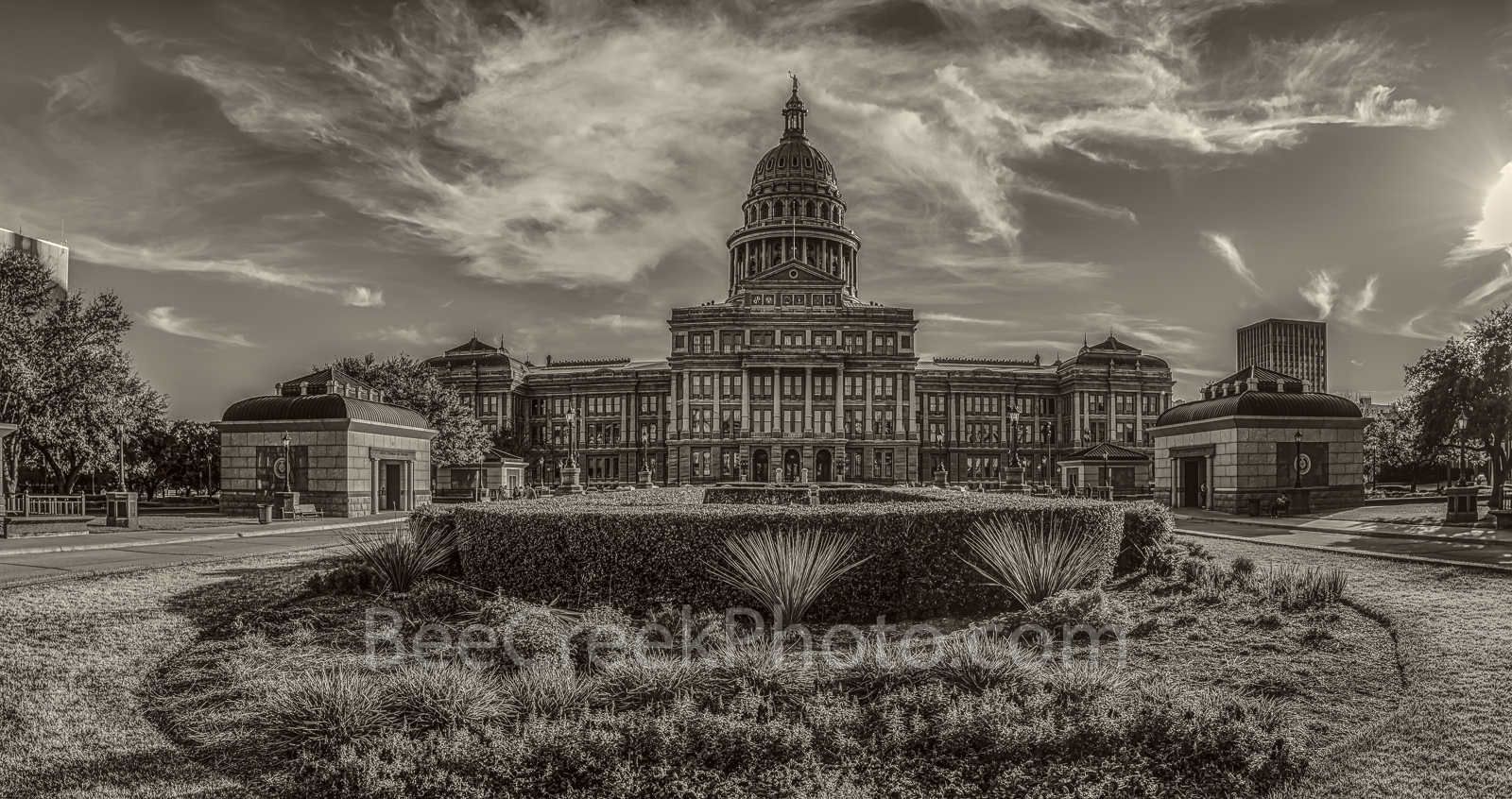 Austin, Texas Capitol, vintage, sepia, fine art, cityscape, downtown, city, State Capitol building, Texas State Capitol, state Capitol, Capitol of Texas, tourist, history, historic, trees, green lawn,, photo