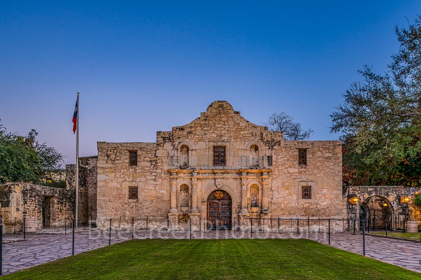 Alamo, San Antonio, Santa Anna, city, cityscape, cityscapes, downtown, dusk, historic, history, landmark, mexico, mission, missions, tourist, twilight, the alamo, , photo