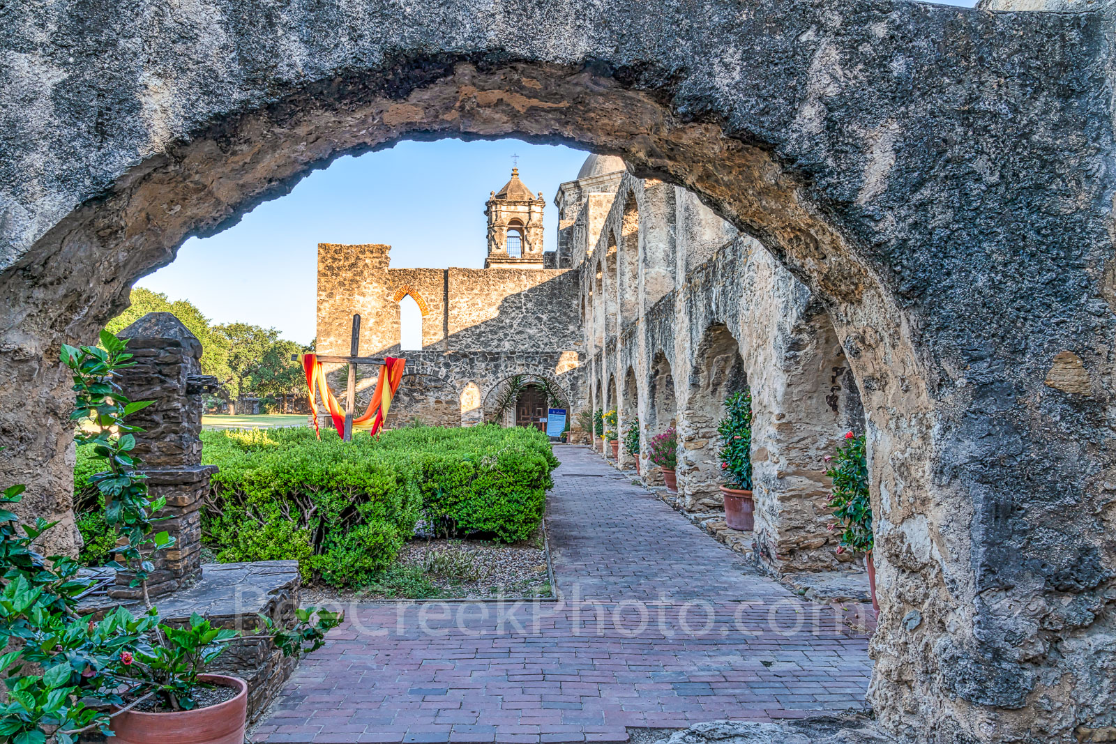 San Antonio, historic, landmarks, mission, missions, Flying Buttresses, Mission San Jose, San Antonio Texas, downtown, tourism, tourist, travel, images of missions, photos of missions, pictures of mis, photo