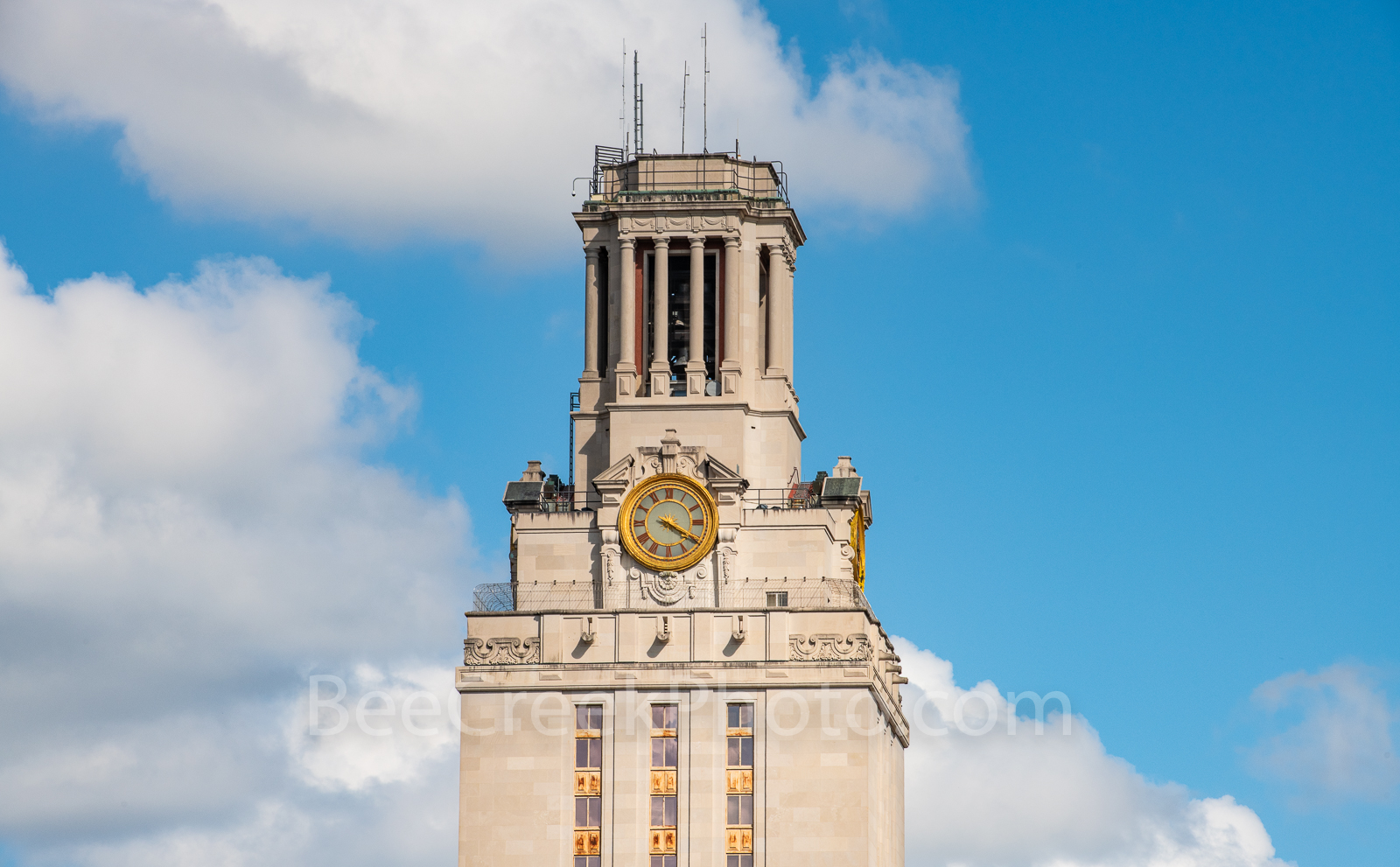 Austin, UT, UT Tower, day, daytime, downtown, cityscape, close up, landmark, clock, images of texas, UT clock,, photo