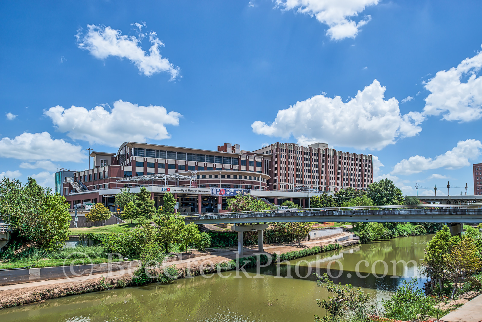 Houston, University of Houston, downtown, Buffalo Bayou, city, cities, cityscape, UH, school, , photo