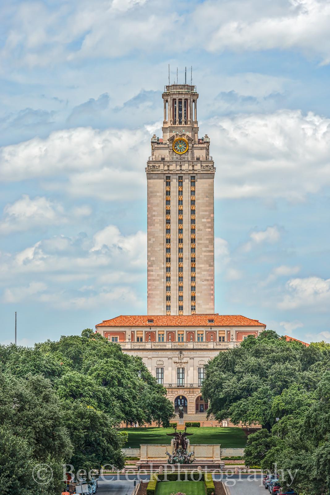 UT, Tower, Austin, landmark, cityscape, cityscapes, verticle, city, library, campus, administration, school, university, , photo